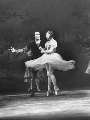Galina Ulanova Soviet Ballerina Galina Ulanova Dancing in Title Role of