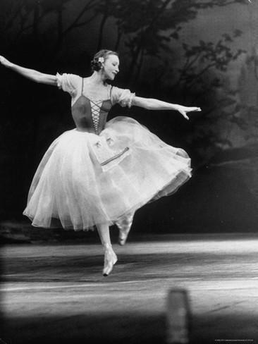 Galina Ulanova Soviet Ballerina Galina Ulanova Dancing in Title Roll of