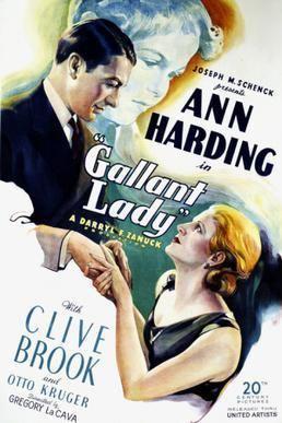 Gallant Lady (1942 film) Gallant Lady 1934 film Wikipedia