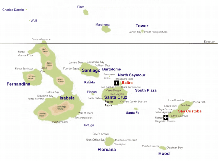 Galapagos Province in the past, History of Galapagos Province