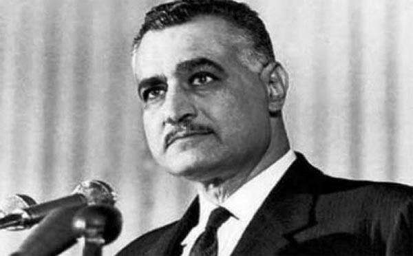 Gamal Abdel Nasser In 1958 Egyptian audience laughs over proposal for women to wear