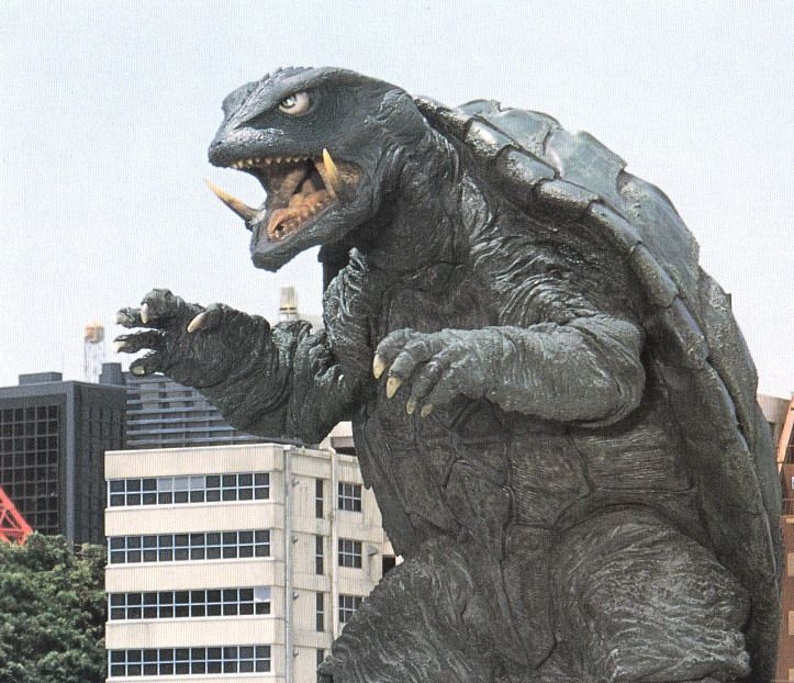 Gamera (film) movie scenes Japanese monster movies are fucking confusing I don t mean the movies themselves I mean the entire genre as a whole Seemingly every monster has their own