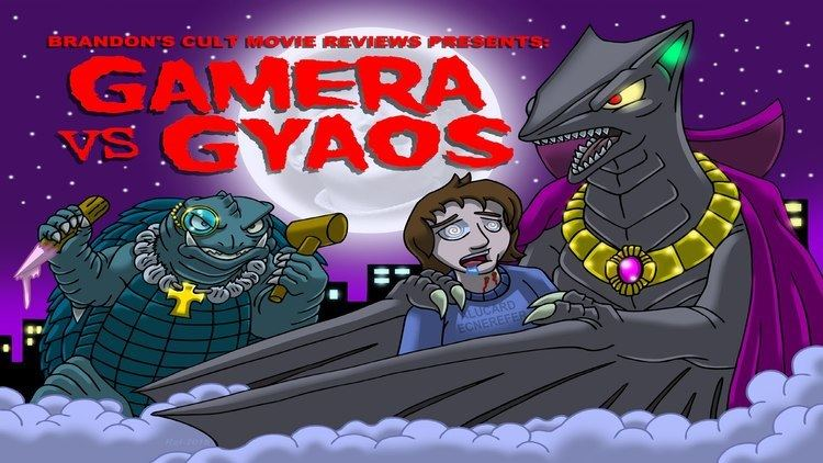 Gamera vs. Gyaos Brandons Cult Movie Reviews Gamera vs Gyaos YouTube