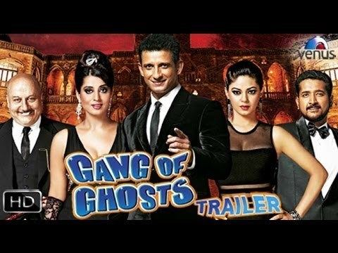 Gang Of Ghosts Official Theatrical Trailer 2014 Sharman Joshi