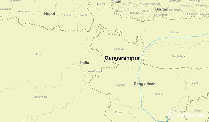 Gangarampur wwwworldatlascomimglocatorcity0391051283ga