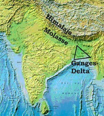 Ganges Delta Delta India