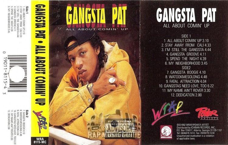 Gangsta Pat Gangsta Pat All About Comin39 Up Cassette Tapes Rap