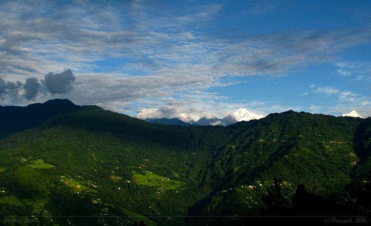 Gangtok Beautiful Landscapes of Gangtok