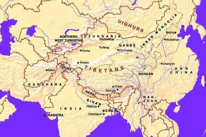 Gansu in the past, History of Gansu