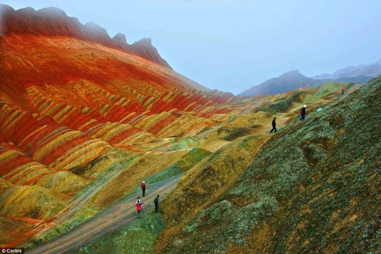 Gansu Beautiful Landscapes of Gansu