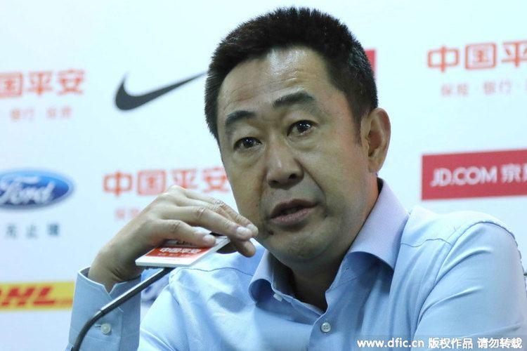 Gao Jinggang Gao Jinggang Resigns as Changchun Yatai Head Coach