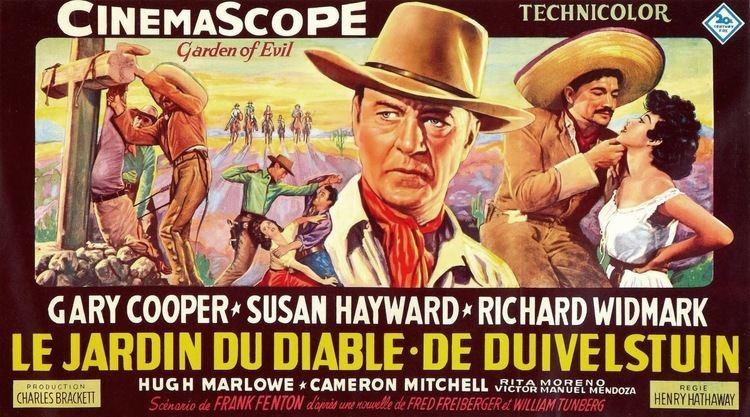 Garden of Evil Belgian Movie Posters Garden of Evil 1954