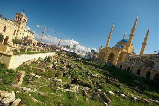 Garden of Forgiveness Garden of Forgiveness Archaeological Area Beirut Lebanon Top