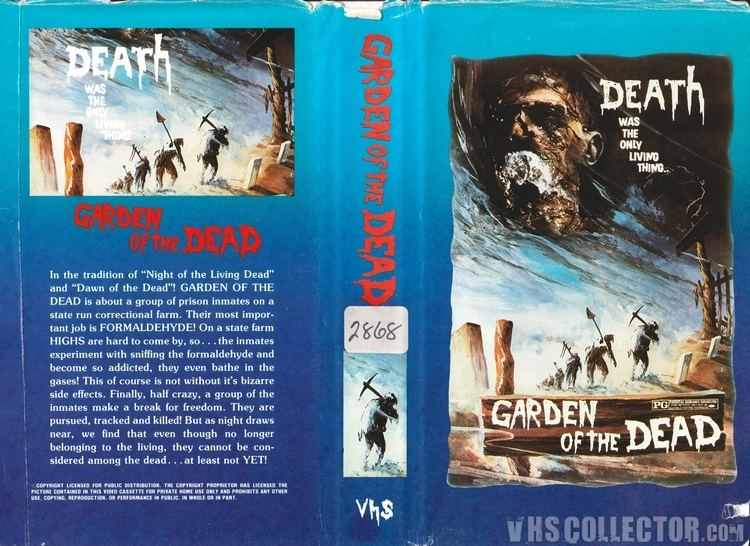 Garden of the Dead Garden of the Dead VHSCollectorcom Your Analog Videotape Archive