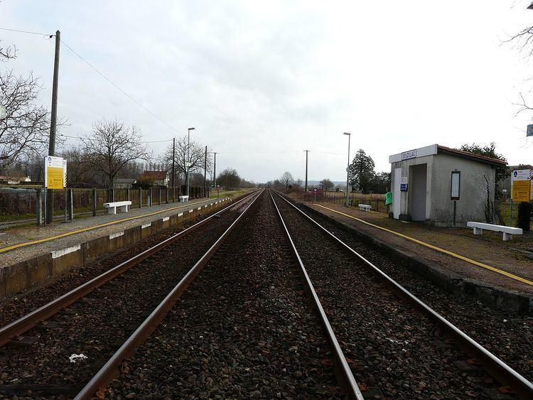 Gare de Douzillac