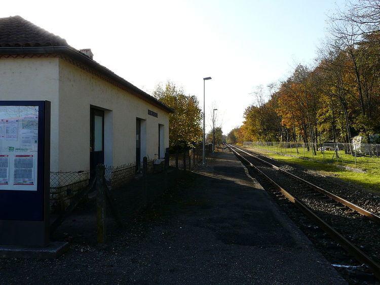Gare de Milhac-d'Auberoche