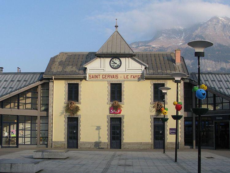 Gare de Saint-Gervais-les-Bains-Le Fayet