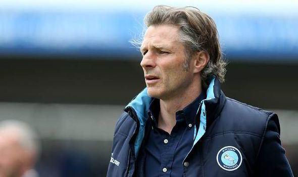 Gareth Ainsworth Gareth Ainsworth Wycombe are still in a financial mess