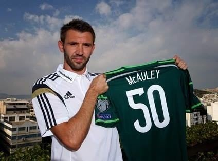 Gareth McAuley Gareth McAuley wins 50th Cap Clan MacAulay