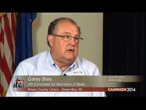 Garey Bies Garey Bies R for Secretary of State YouTube