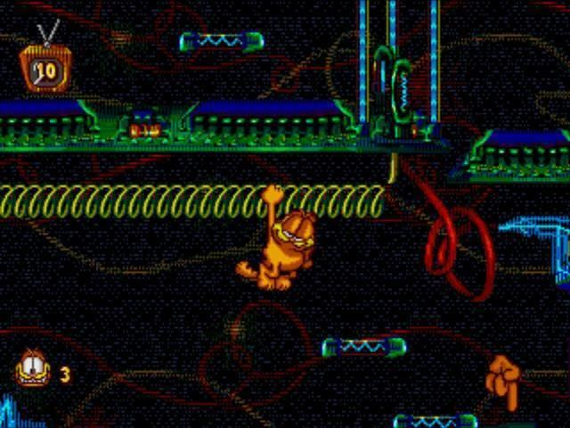 Garfield: Caught in the Act Garfield Caught in the Act User Screenshot 5 for Genesis GameFAQs