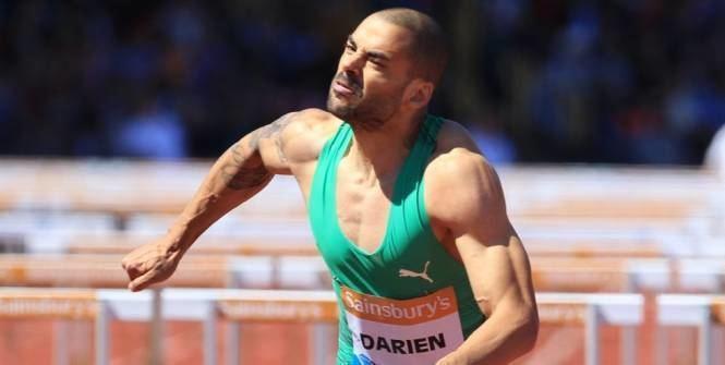 Garfield Darien ChF Hommes Garfield Darien champion de France du 110m