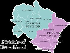 Garhwal division Division de Garhwal Wikipdia