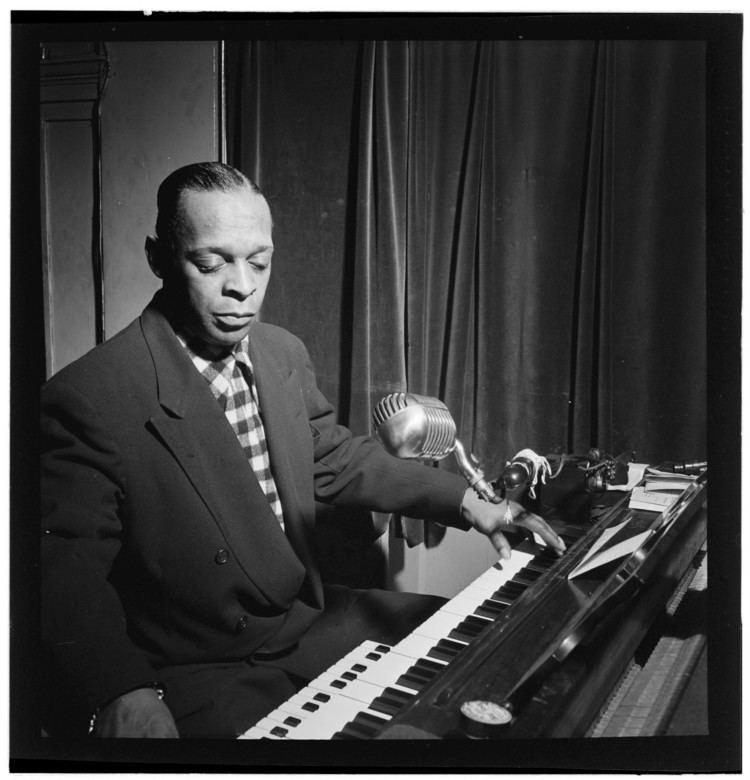 Garland Wilson Portrait of Garland Wilson New York NY between 1938 and 1948