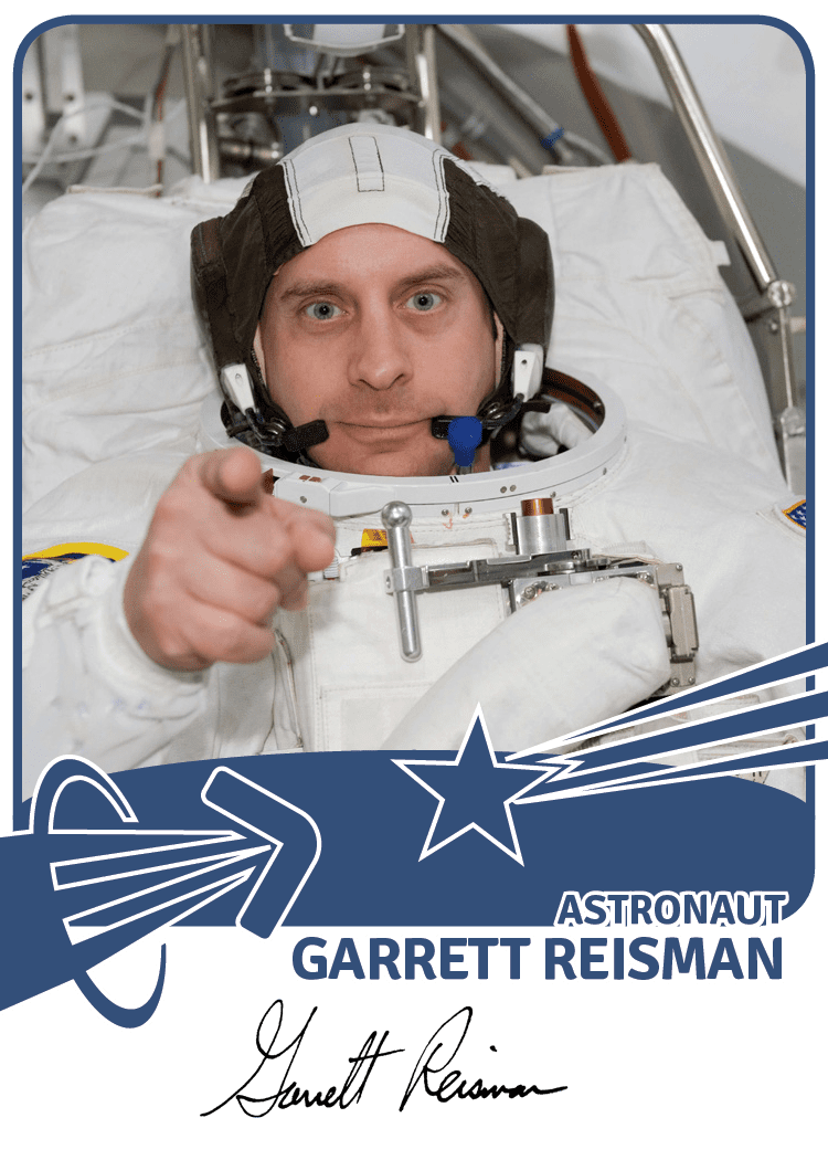 Garrett Reisman uniphi good Garrett Big G Reisman
