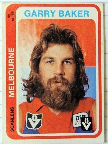 Garry Baker Australian Football Garry Baker Player Bio