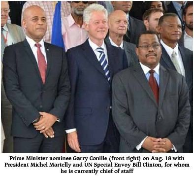 Garry Conille Garry Conille The NeoLiberal Pedigree of Haiti39s Latest