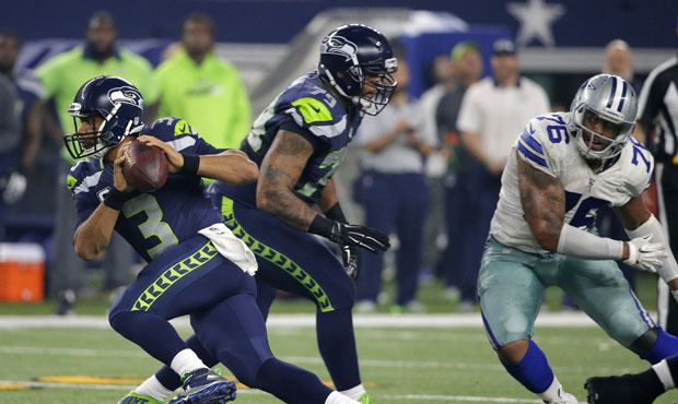 Garry Gilliam Garry Gilliam talks about next step in the evolution as Seahawks