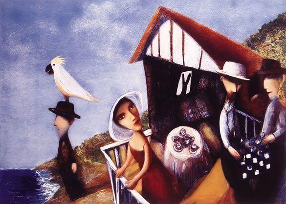 Garry Shead Garry Shead Robyn Berkeley Fine Art