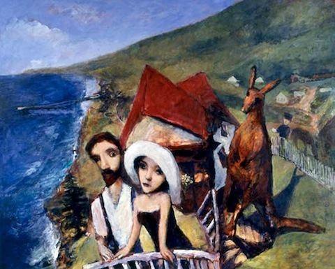 Garry Shead Garry Shead Bali Bound ARTRAVELIFE
