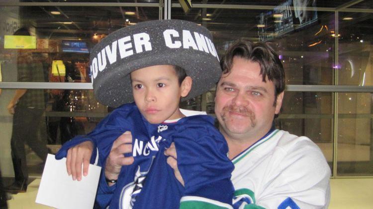 Garth Butcher Garth Butcher Signing 01112011 Vancouver Canucks