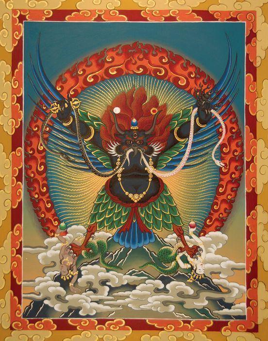Garuda Dhwaja 24 best Garuda Dhwaja images on Pinterest Mandalas Tibetan art