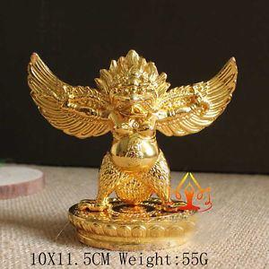 Garuda Dhwaja Buddha Tibet Tibetan Buddhist Copper Gild Garuda Dhwaja Bird For Car