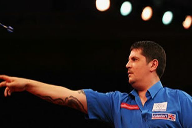 Gary Anderson (darts player) Scots ace Gary Anderson admits he struggled to overcome