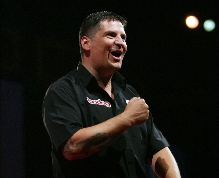 Gary Anderson (darts player) UK Open Qualifer 7 Wigan Darts Madcom