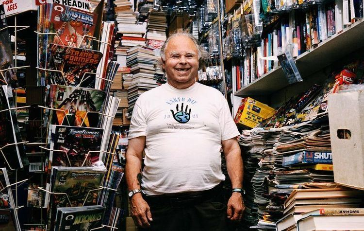 Gary Arlington Le propritaire de la toute premire boutique de comics