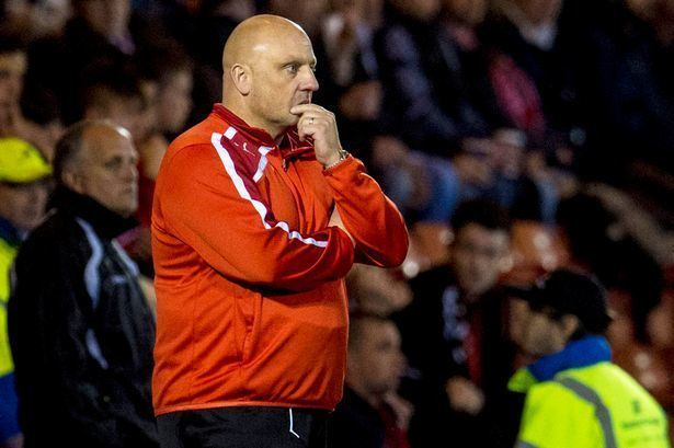 Gary Bollan Gary Bollan was the right man for Airdrieonians but he has picked