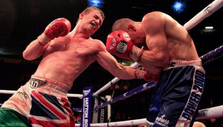 Gary Buckland Gary Buckland is back and has refound his hunger Boxing Wales