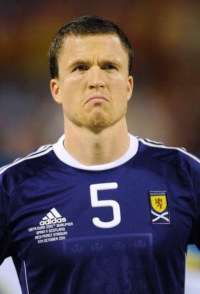 Gary Caldwell Gary Caldwell Pictures Spain v Scotland EURO 2012