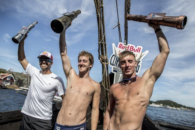 Gary Hunt Gary Hunt seals Cliff Diving World Series hattrick