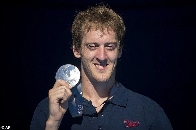 Gary Hunt FINA World Championships Barcelona 2013 Gary Hunt wins silver for