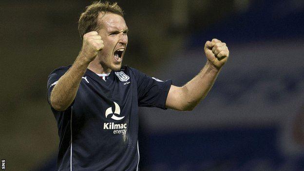 Gary Irvine BBC Sport Dundee Gary Irvine stays as Ryan Conroy