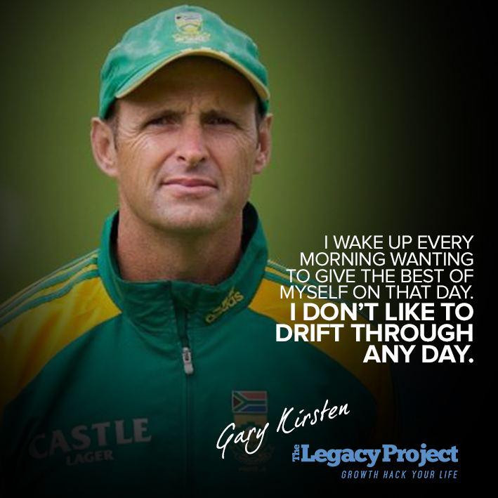 Gary Kirsten Former South African Cricketer World Cup Winning