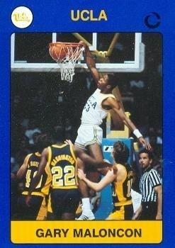 Gary Maloncon Gary Maloncon Basketball Card UCLA 1991 Collegiate Collection 12