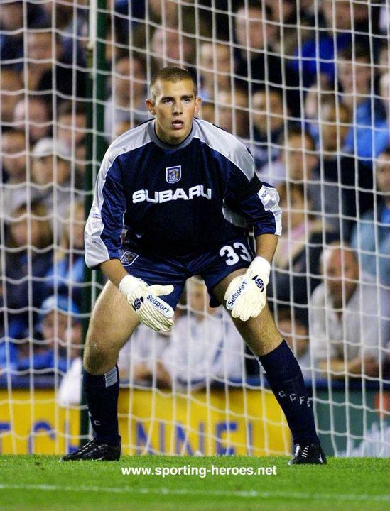 Gary Montgomery Gary MONTGOMERY League Appearances Coventry City FC