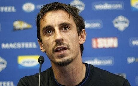 Gary Neville Gary Neville fit and ready to battle for Manchester United